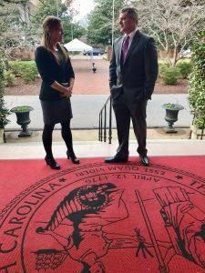 P2P at South Carolina Governors Mansion